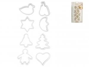 Confezione 8 Formine Biscotti Assortito 378/8