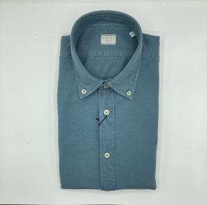 Camicia in cotone tinto capo Xacus