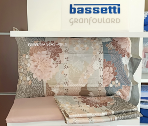 COMPLETO LENZUOLA BASSETTI GRANFOULARD MADAMA BUTTERFLY