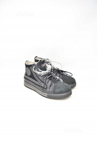 Shoes Woman Accident Prevention Chic Cofra With Jewels N° 38 Black