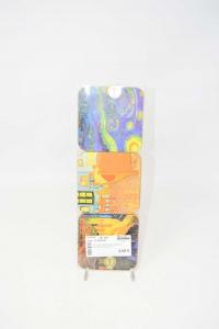 Set 6 Coasters Images Square Van Gogh