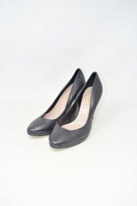 Pointed-toe Pump Woman Black N° 37 Processing Artigiana True Leather New