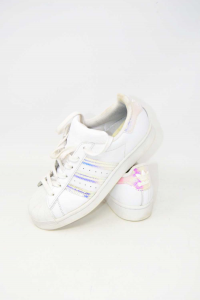 Shoes Woman Adidas Superstar N° 38 Metalizzate