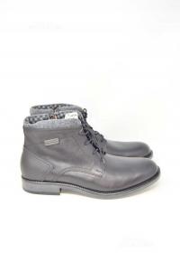 Ankle Boots Man Riflessi Urbani True Leather N° 44 New Black