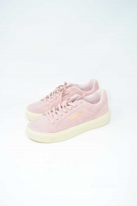 Shoes Woman Mistral Suede Pink N° 40 New