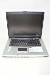 Computer Acer Travelmate2490 Con Windows Vista Memoria 1 GB 1.73GHz