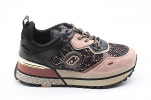 Liu Jo Sneakers Donna in mesh e raso stampato