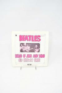 Disc Vinyl 45 Turns Beatles Ballad Of John And Joko Old Brown Shoe