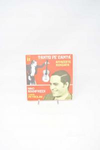 Disc Vinyl 45 Turns Nino Manfredi