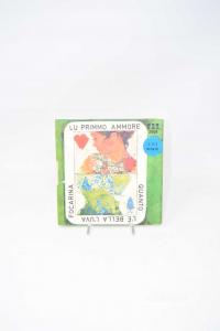 Disc Vinyl 45 Turns Lu Primmo Love - Quanto è Beautiful Luva Focarina