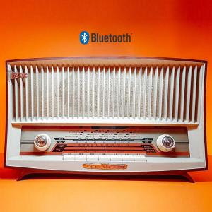Mivar Rodi radio vintage originale 1958 trasformata bluetooth