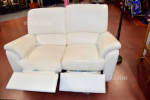 Sofa In Real Leather Chateau Fromxwith Double Engine Separati