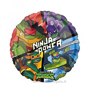 Palloncino Foil Tartarughe Ninja Compleanno bimbo 45 cm - Party allestimento