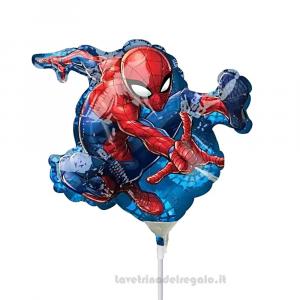 Palloncino Foil Spiderman Compleanno bimbo 35 cm - Party allestimento