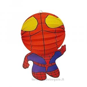 Lanterna sagomata Spiderman Compleanno bimbo 33 cm - Party allestimento