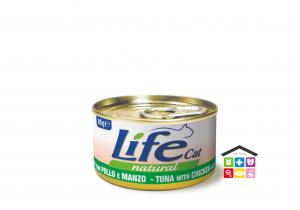 Life gatto filetti di pollo con manzo  0,85g