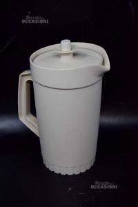 Caraffa In Plastica Tupperware Grigio 22 Cm Altezza
