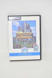 Video Game Pcv Sim City World Edition