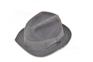 Wool Hat Black Habig Wien Made In Australia Size 57