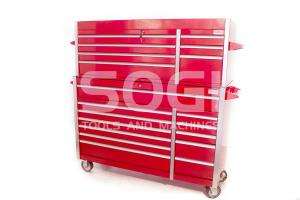 Carrello + cassettiera porta attrezzi per officina garage SOGI X6-12 + X6-07