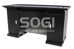 Banco per tornio M4-700 basamento universale con antina SOGI BAN-1500