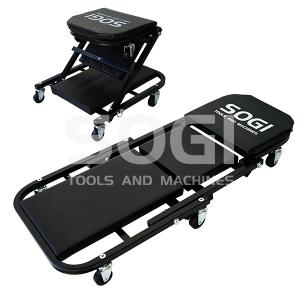 Carrello sottoauto convertibile a seggiolino sgabello pieghevole SOGI X4-17