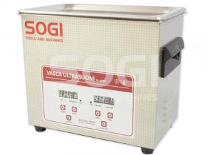 Vasca pulitrice ad ultrasuoni riscaldata 3,2L SOGI VL-U320R