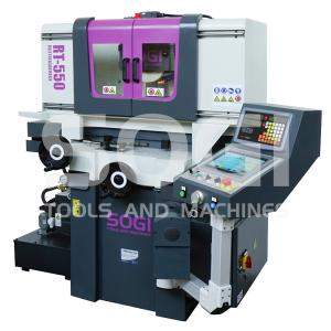 Rettificatrice per piani automatica SOGI RT-550 - 550x250 - PLC e interfaccia touch - 400 V