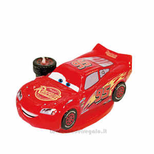 Candelina sagomata Cars 3 in cera Compleanno bimbo 9 cm - Party torta