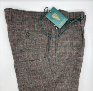 Pantalon lana, fantasia finestrata Berwich