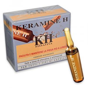 KERAMINE H Fiale Trattamento fissatore rinforzante per tutti i tipi di capelli