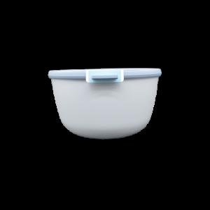 Ciotola con coperchio trasparente 3 litri blu