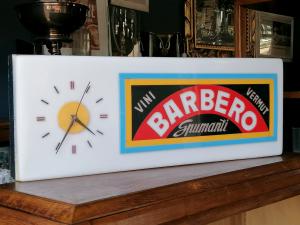 Insegna vintage spumanti barbero
