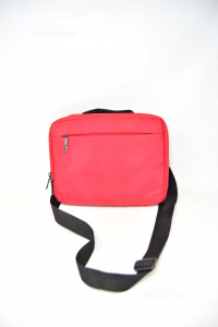 Holder Tablet Toucan In Fabric Red Shoulderstrap