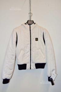 Giubbino Donna Refrigiwear Bianco Tg S-40 Rain Proof Art.ny 3271
