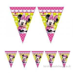 Ghirlanda bandierine Minnie e Daisy Compleanno bimba 2.30mt - Party allestimento
