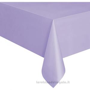 Tovaglia lilla Compleanno bimba in plastica 137x274 cm - Party tavola