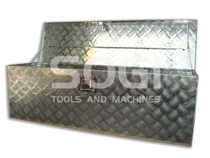 Baule portautensili porta attrezzi in alluminio per cassone pick-up SOGI BLE-125