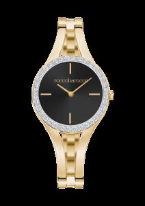 Orologio donna Rocco Barocco con cinturino in acciaio dorato RBW575