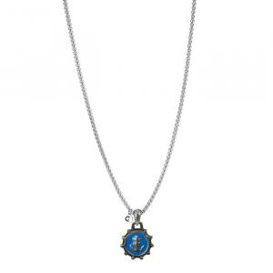 Goyatè - Collana Nautilus HOPE BLUE VINTAGE NECKLACE