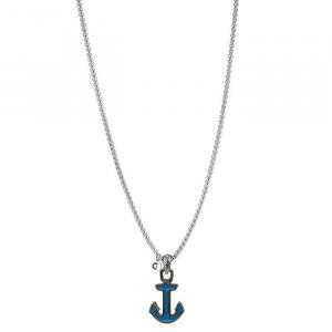 Goyatè - Collana Nautilus MISAKA BLUE VINTAGE NECKLACE