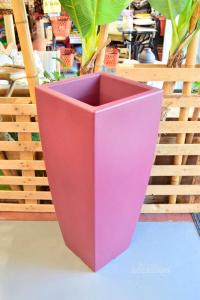 Plastic Pot Arca Model Shuttle Painting Bordeauxxheight 100 Diameter 42*42