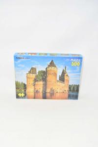 Puzzle Vintage Malipiero 500 Puzzle Raffigurante Castello