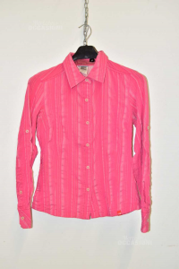 Shirt Woman The North Face Pink Striped Sizexs