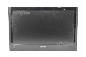 Televisore Hitachi Nero Con Telecomando ( No Base)