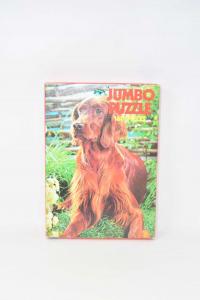 Puzzle Vintage Jumbo 160 Pezzi Raffigurante Un Cane