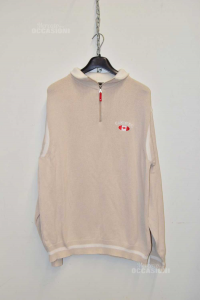 Sweater Man Beige Canadiens Sizexl Original