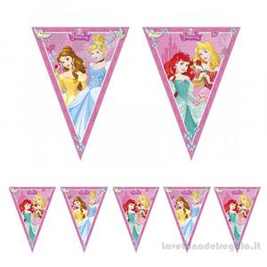 Ghirlanda bandierine Principesse Dreaming Compleanno bimba 2.30mt - Party allestimento