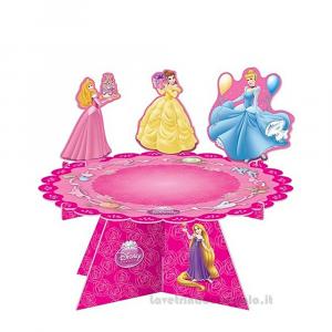 Alzatina Principesse Disney Compleanno bimba 32x16 cm - Party allestimento