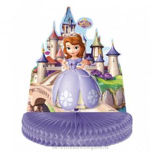 Centrotavola con la Principessa Sofia Compleanno bimba 30x35 cm - Party tavola
